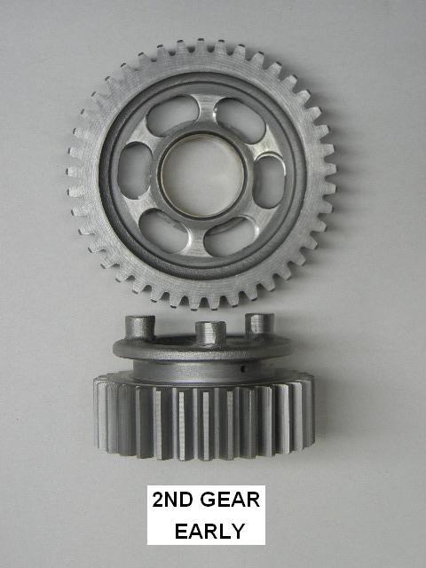 Vortex 245K-46 Solid Black 46-Tooth Rear Sprocket